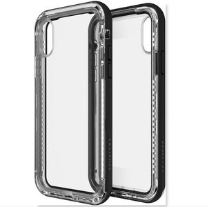 Lifeproof NEXT case for iPhone X clear/black apple